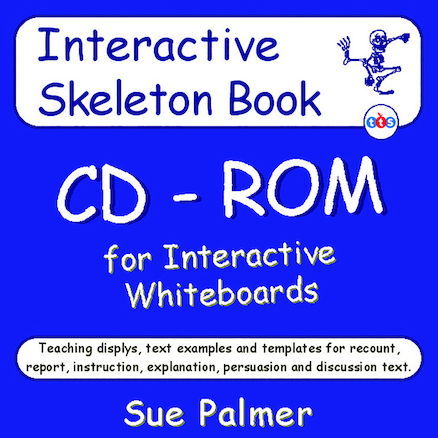 Non\-Fiction Skeleton CD\-ROM by Sue Palmer  large