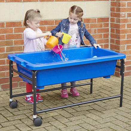Sand \x26 Water Play Table 40cm Blue  large