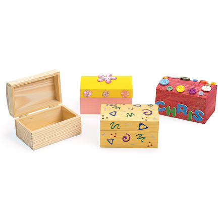 Wooden Treasure Chests  large