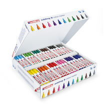 edding® Assorted Colourmarker 9 Fibre Tip Pens  medium