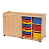 Tray Storage Unit 6 Deep Trays \/ 16 Shallow Trays  small