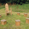 Outdoor Wooden Story Circle  small