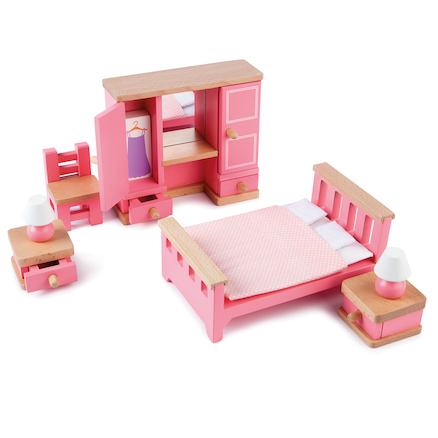 Small World Dolls House Furniture Set 40pcs  large