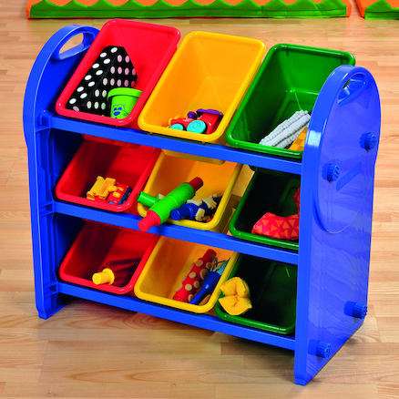 Plastic Tilted Tray Storage Organisers  large