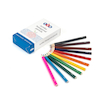 TTS Assorted Jumbo Hex Colouring Pencils 156pk  small