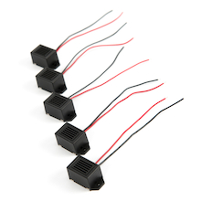 Miniature Electronic Buzzer 6v 5pk  medium