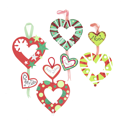 Make your own Heart Wreaths 30pk  large