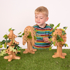Wooden 3D Threading and Lacing Trees 3pk  small