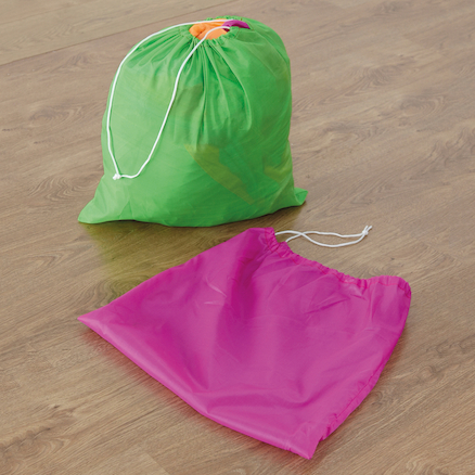 Fluorescent 12 Handle Parachute 6m  large