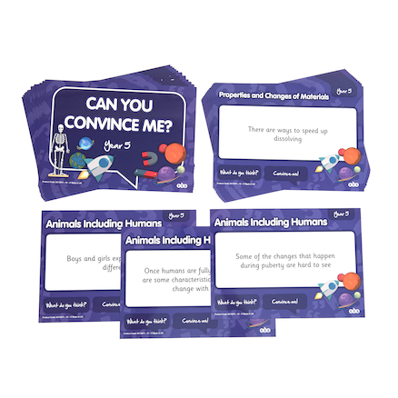Can You Convince Me? Science Activity Cards  large