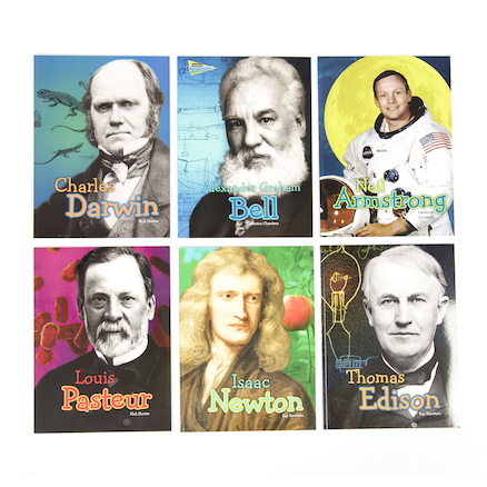 Science Famous Scientist Biographies Book Pack  large