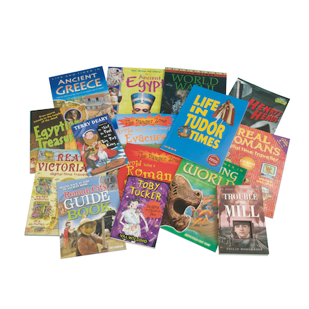 KS2 History Curriculum Books 15pk  large
