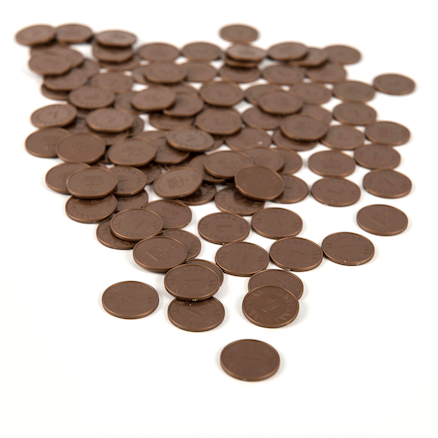 One Pence Coin 100pcs  large