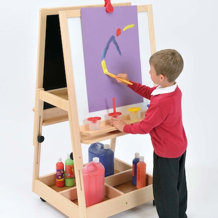 Double Reversible Adjustable Easel  large