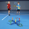 Foam Quoits Target Game with 6 Quoits and Target  small