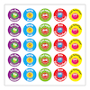 French Blobs Stickers (Pk 125)  small