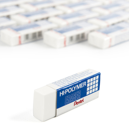Pentel High Polymer Eraser 36pk  large