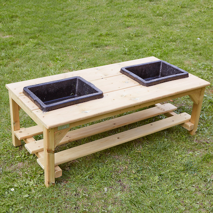 Wooden Explorer Bench  large