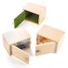 Wooden Discover Textures Lock Boxes 3pk  small