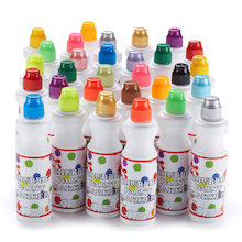 Chubbie Paint Markers Assorted 30pk  medium