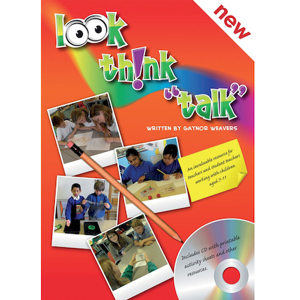 Look, Think, Talk Science Book and Cd  large