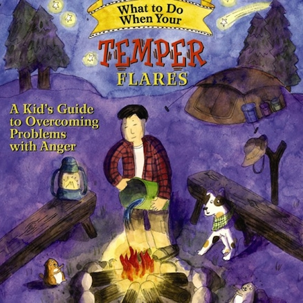 What To Do When Your Temper Flares Self Help Book  large