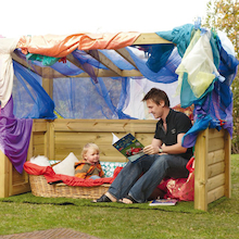 Outdoor Wooden Role Play Centre   medium
