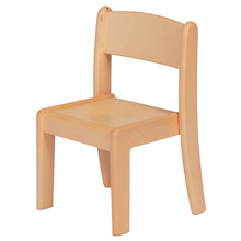 Millhouse Beech Stacking Chair Pack of 4  medium