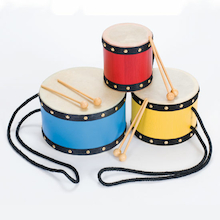 Indian Tom Tom Drums 3pk  medium