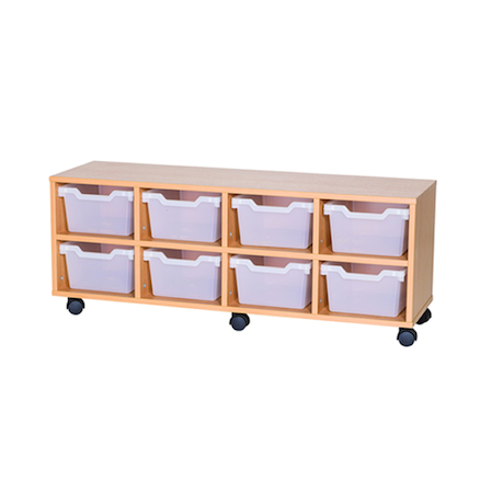 8 Cubby Tray Unit H460mm  large