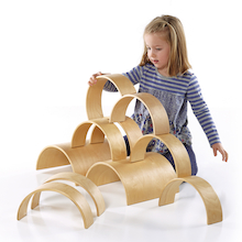Wooden Arches and Tunnels 10pk  medium