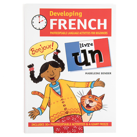 Developing French Book Livre Un  large