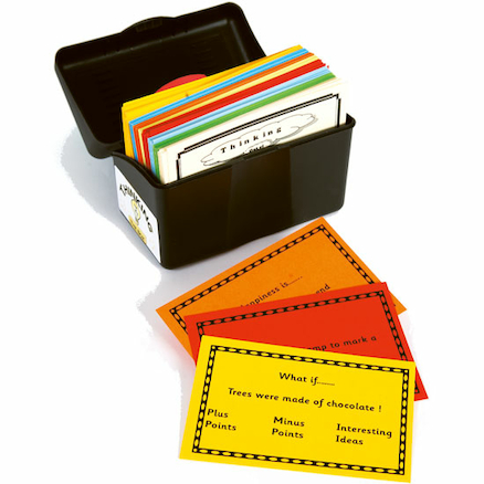 Thinking Activity Cards In A Box 200pk  large