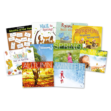 Seasons Book Pack KS1 10pk  medium