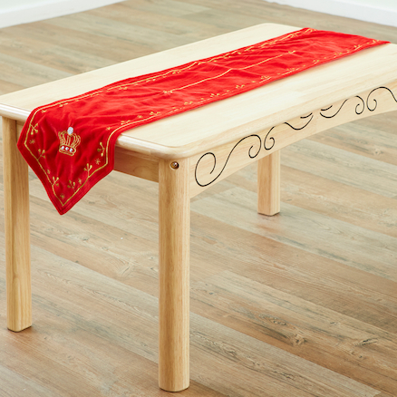 Banqueting Wooden Table \x26 Runner Set  large