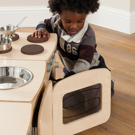Playscapes Toddler Play Kitchen Set Of Four  large