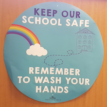 Hand Hygiene Wall Stickers 5pk  medium