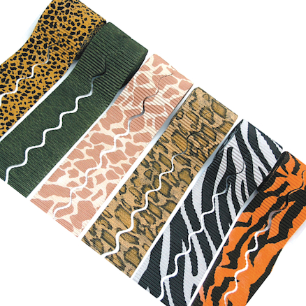 Safari Print Display Bordette 57cm x 7.5m 6pk  large