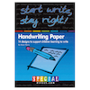 Start Write Stay Right Handwriting Papers and CD  small