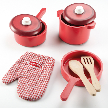 Wooden Role Play Kitchen Accessory Set  large
