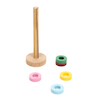 Floating Coloured Ring Magnets 5pk  small