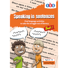 Speaking In Sentences Activity Books  medium