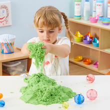 Coloured Kinetic Sand 2.3kg  medium