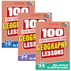 100 New Curriculum Geography Lessons Books  small