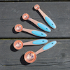 Rose Gold Measuring Spoons 5pk  small