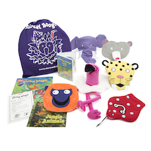 The Animal Boogie Story Sack Books and Toys Pack  medium