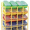Rainbow 20 Tilt Bin Storage Unit  small