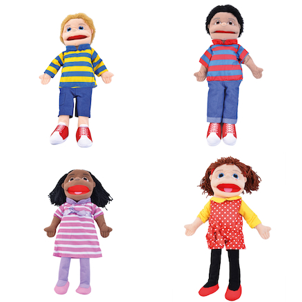 Large People Hand Puppets Buy all and Save  large