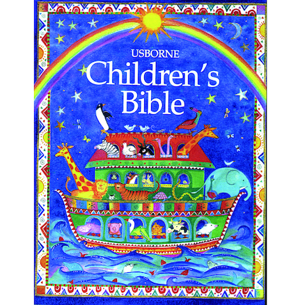 Old and New Testament Illustrated Childrens Bible  large
