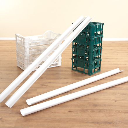 Plastic Water Channelling Guttering 6pk  large